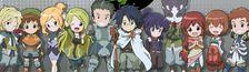 Cover Animes MMO/monde virtuel