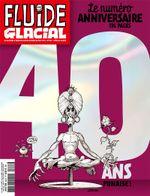 Couverture Les 40 ans de Fluide Glacial