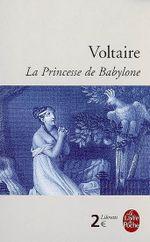 Couverture La princesse de Babylone