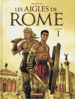 Couverture Les Aigles de Rome, livre 1
