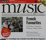 Pochette BBC Music, Volume 1, Number 6: French Favourites: Berlioz, Chausson, Debussy, Dukas, Ravel (Live)