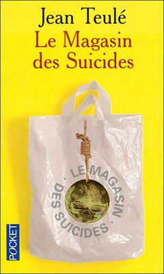 Couverture Le Magasin des suicides