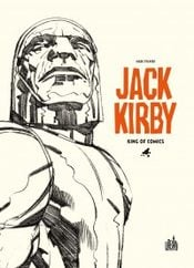 Couverture Jack Kirby, King of Comics