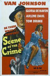 Affiche La scène du crime