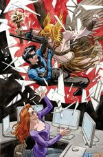Couverture Convergence : Nightwing / Oracle