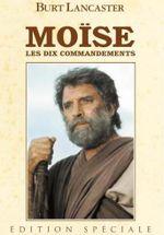 Affiche Moïse, les dix commandements