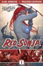 Couverture Red Sonja Vol.1: Queen of Plagues