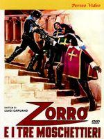 Affiche Zorro et les Trois Mousquetaires