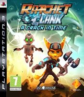 Jaquette Ratchet & Clank : A Crack in Time