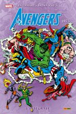 Couverture 1973 - The Avengers : L'Intégrale, tome 10
