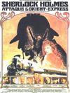 Affiche Sherlock Holmes attaque l'Orient Express
