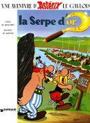 Couverture La Serpe d'or - Astérix, tome 2