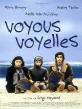 Affiche Voyous, Voyelles