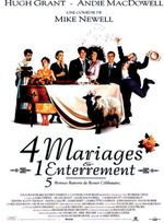 Affiche Quatre mariages et un enterrement