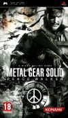 Jaquette Metal Gear Solid : Peace Walker