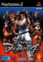 Jaquette Virtua Fighter 4