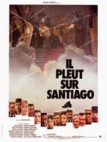Affiche Il pleut sur Santiago