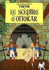 Couverture Le Sceptre d'Ottokar - Les Aventures de Tintin, tome 8