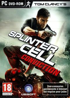 Jaquette Splinter Cell : Conviction