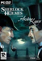 Jaquette Sherlock Holmes contre Arsène Lupin