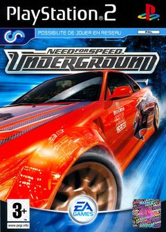 Jaquette Need for Speed Underground