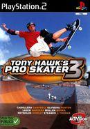Jaquette Tony Hawk's Pro Skater 3
