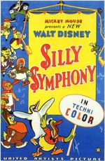 Affiche Silly Symphonies