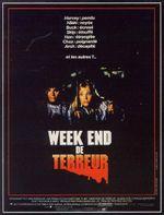 Affiche Week-end de terreur