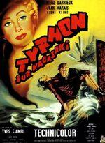 Affiche Typhon sur Nagasaki
