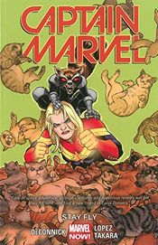 Couverture Stay Fly - Captain Marvel (2014), tome 2