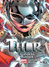 Couverture The Goddess of Thunder - Thor (2014), tome 1