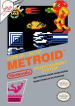 Jaquette Metroid