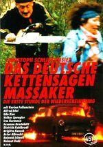 Affiche Massacre allemand à la tronçonneuse