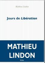 Couverture Jours de Libération