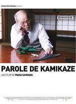 Affiche Parole de kamikaze