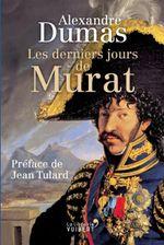 Couverture Les derniers jours de Murat