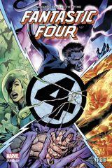 Couverture Trois - Fantastic Four, tome 2