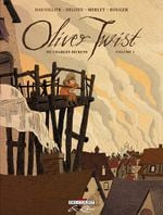 Couverture Oliver Twist de Charles Dickens, tome 1