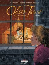 Couverture Oliver Twist de Charles Dickens, tome 4