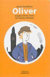 Couverture Oliver, d'après Oliver Twist de Charles Dickens