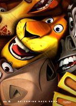 Affiche Madagascar 4