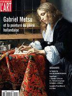 Couverture Gabriel Metsu et la peinture de genre hollandaise