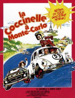 Affiche La Coccinelle à Monte-Carlo