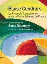 Couverture La Prose du Transsibérien et de la petite Jehanne de France