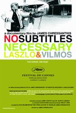Affiche No subtitles necessary: the story of laszlo and vilmos