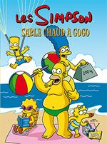 Couverture Sable chaud à gogo - Les Simpson, tome 21
