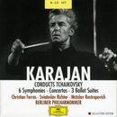 Pochette Karajan conducts Tchaikovsky