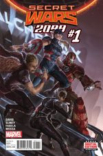 Couverture Secret Wars 2099 (2015 - Present)