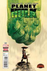 Couverture Planet Hulk (2015)