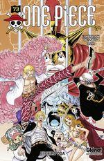Couverture L'Opération Dressrosa S.O.P. - One Piece, tome 73
